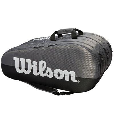 Wilson Team 15 Racket Bag - Grey