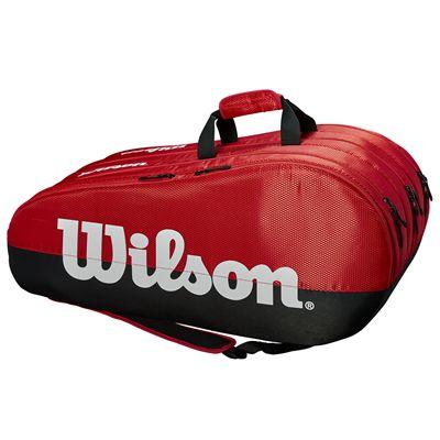 Wilson Team 15 Racket Bag - Red