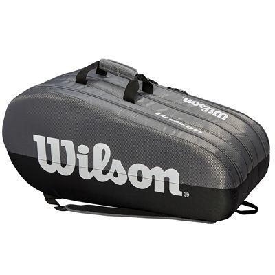 Wilson Team 15 Racket Bag - Side - Grey