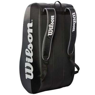 Wilson Team 15 Racket Bag -  Grey Staying
