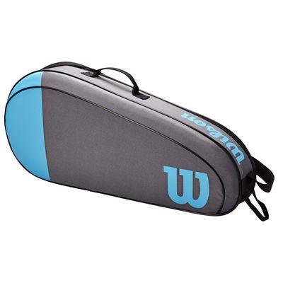 Wilson Team 3 Racket Bag SS21 - Blue - Side
