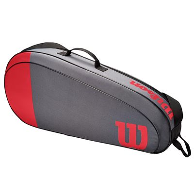 Wilson Team 3 Racket Bag SS21 - Red - Side