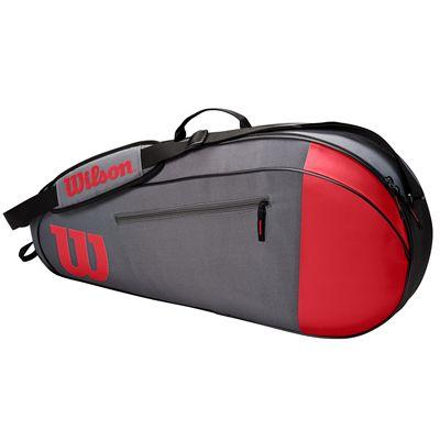 Wilson Team 3 Racket Bag SS21 - Red