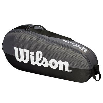 Wilson Team 3 Racket Bag - Grey - Side