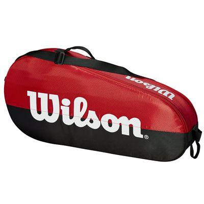 Wilson Team 3 Racket Bag - Red