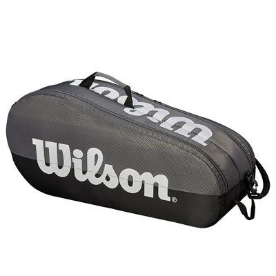 Wilson Team 6 Racket Bag - Grey - Side