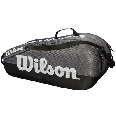 Wilson Team 6 Racket Bag - Grey