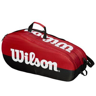 Wilson Team 6 Racket Bag - Red - Side