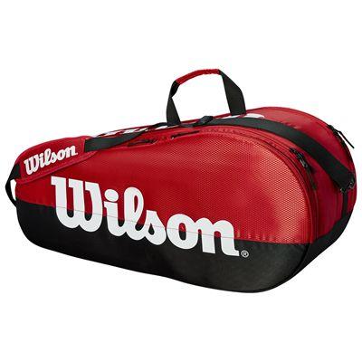 Wilson Team 6 Racket Bag - Red