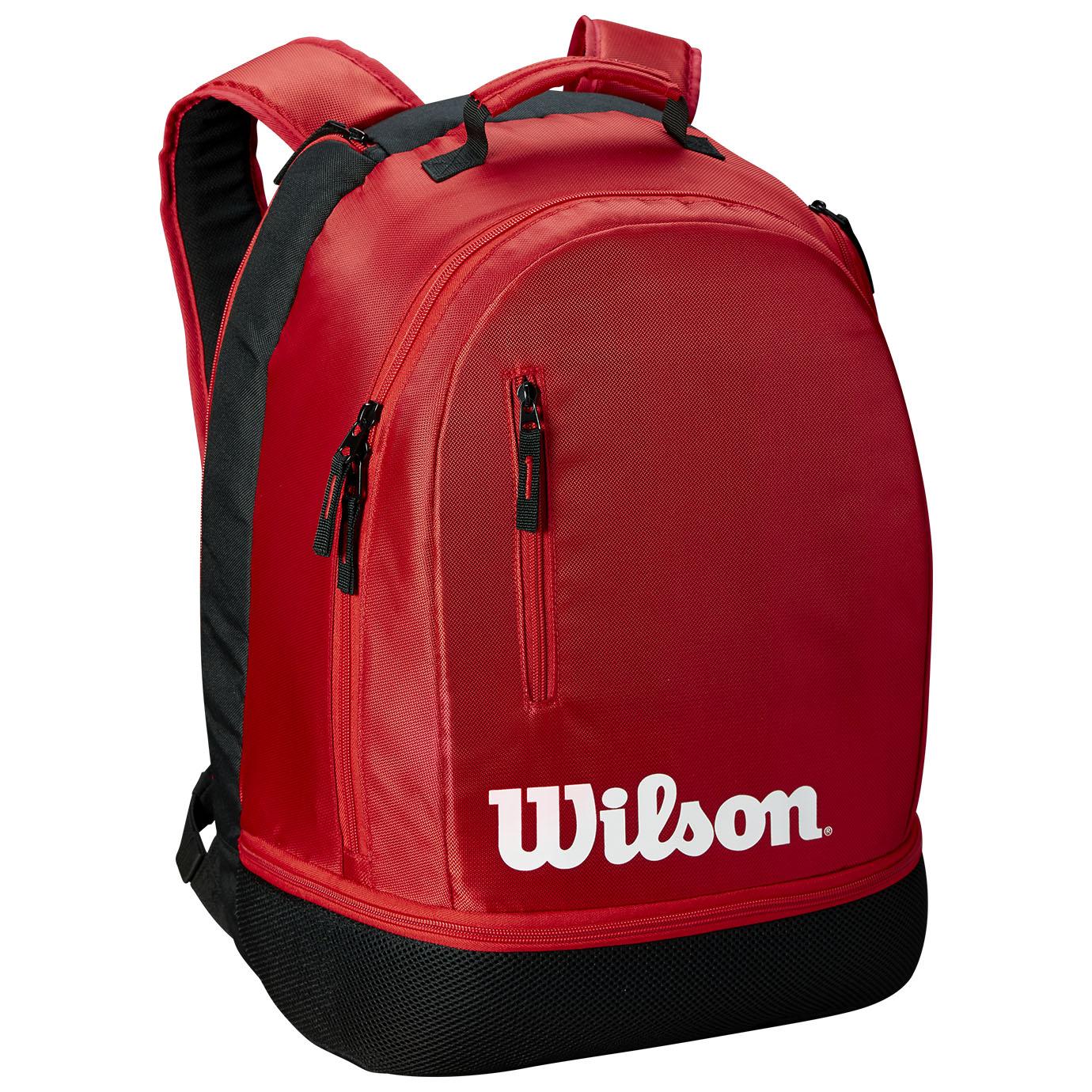 Wilson Team Backpack - Black/Red