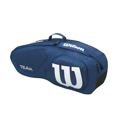 Wilson Team II 3 Racket Bag - Side