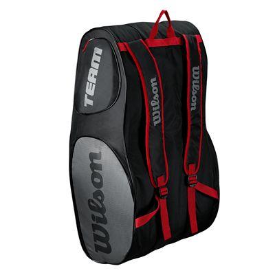 Wilson Team III 12 Racket Bag - Black - Back