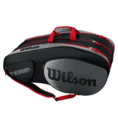 Wilson Team III 12 Racket Bag - Black - Side
