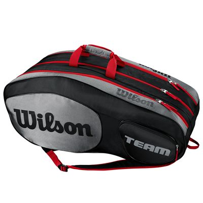 Wilson Team III 12 Racket Bag - Black