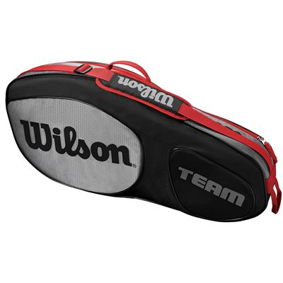 Wilson Team III 3 Racket Bag - Black