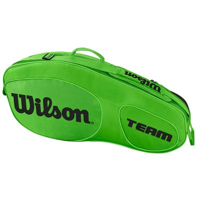Wilson Team III 3 Racket Bag  - Green