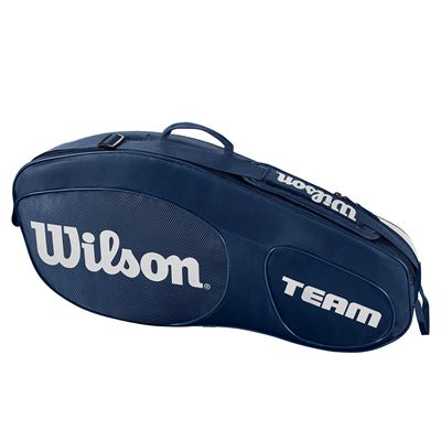 Wilson Team III 3 Racket Bag - Blue
