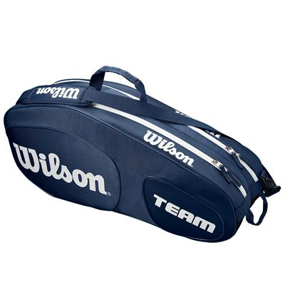 Wilson Team III 6 Racket Bag - Blue