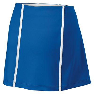 Wilson Team Ladies Skirt-Blue-White-Back