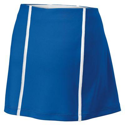 Wilson Team Ladies Skirt-Blue-White-Back