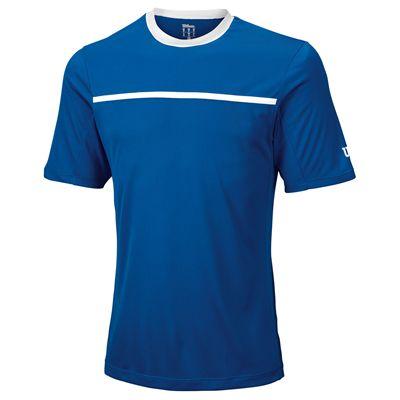 Wilson Team Mens Crew Shirt - Blue