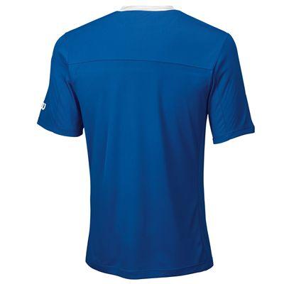 Wilson Team Mens Crew Shirt - Blue/Back