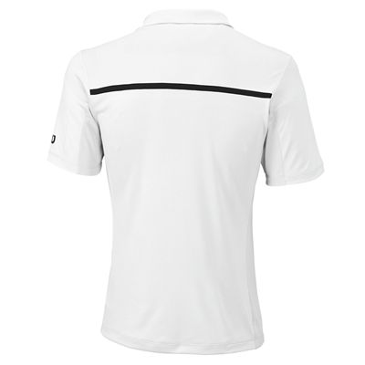 Wilson Team Mens Polo Shirt - Back