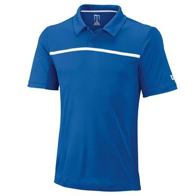 Wilson Team Mens Polo Shirt - Blue