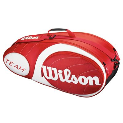 Wilson Team Red 6 Racket Bag