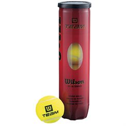 Wilson Team W Tennis Balls - Tube of 4