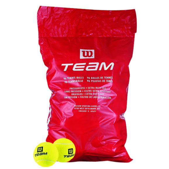 Wilson Team W Trainer Poly Bag  96 Tennis Balls