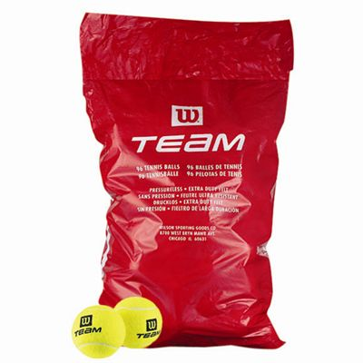 Wilson Team W Trainer Poly Bag (96 Tennis Balls)