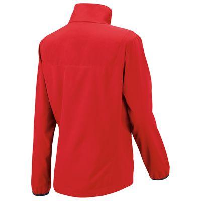 Wilson Team Woven Ladies Jacket-Red-Back