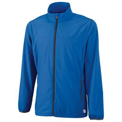 Wilson Team Woven Mens Jacket-Blue-Front