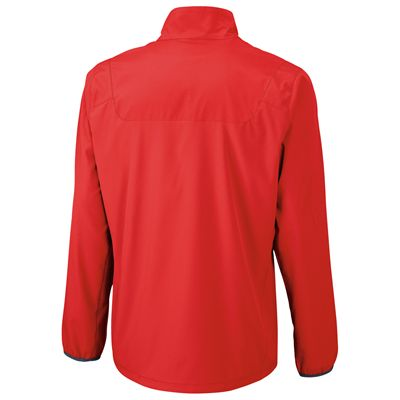 Wilson Team Woven Mens Jacket-Red-Back