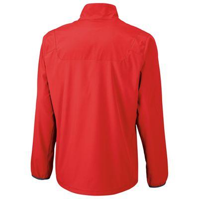 Wilson Team Woven Mens Jacket-Red-Back