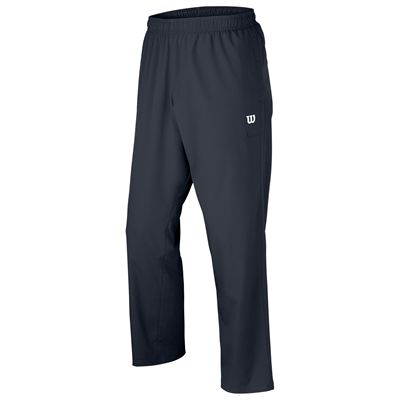 Wilson Team Woven Mens Pants-Charcoal-Front