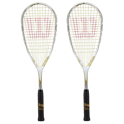 Wilson Tempest 120 BLX Squash Racket Double Pack