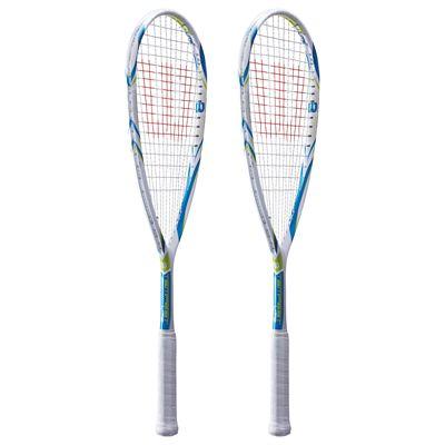 Wilson Tempest Lite BLX Squash Racket Double Pack-Side
