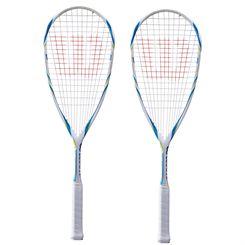 Wilson Tempest Lite BLX Squash Racket Double Pack
