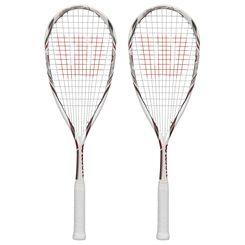 Wilson Tempest Pro BLX Squash Racket Double Pack