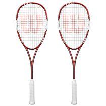Wilson Tour 138 BLX Squash Racket Double Pack