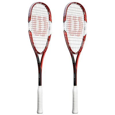 Wilson Tour 138 BLX Squash Racket Double Pack SS15 - Side View