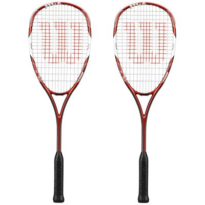 Wilson Tour 150 BLX Squash Racket Double Pack SS15