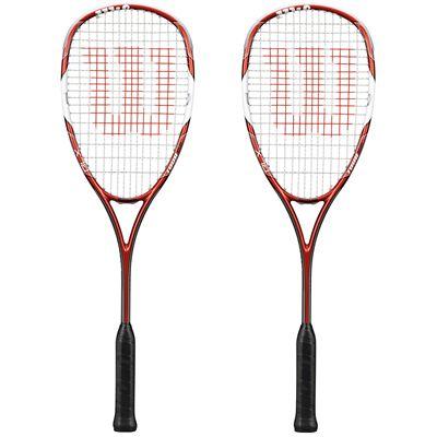 Wilson Tour 150 BLX Squash Racket Double Pack SS15