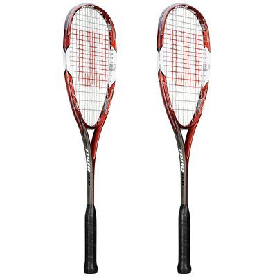 Wilson Tour 150 BLX Squash Racket Double Pack - Site