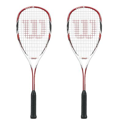 Wilson Tour 150 BLX Squash Racket Double Pack