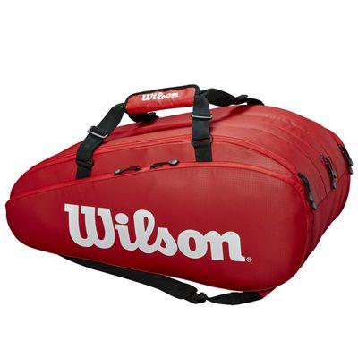 Wilson Tour 15 Racket Bag AW19 - Red