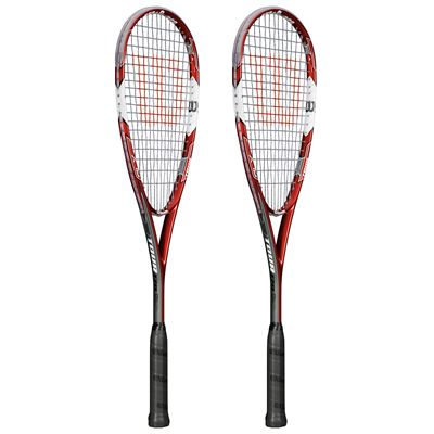 Wilson Tour 170 BLX Squash Racket Double Pack SS15 - Side View