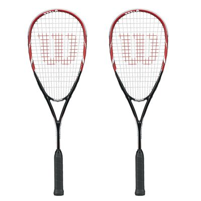 Wilson Tour 170 Squash Racket Double Pack